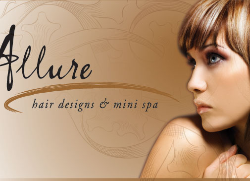 Allure hair designs and mini spa for Allure hair salon